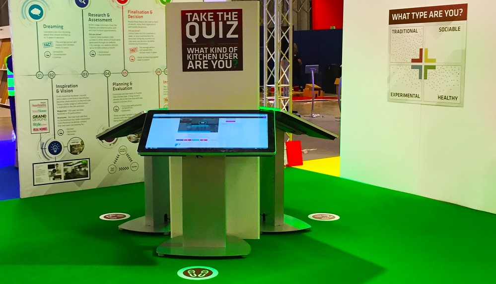 Simple Exhibition Stand Design : Simple guide to creating a touchscreen quiz for your exhibition stand